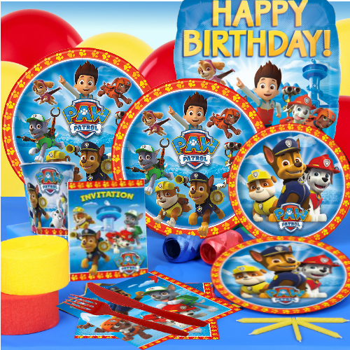 60% OFF: Paw Patrol Complete Party Pack for 16