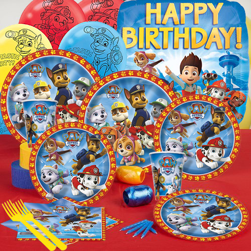 Paw Patrol Complete Party Pack For 16