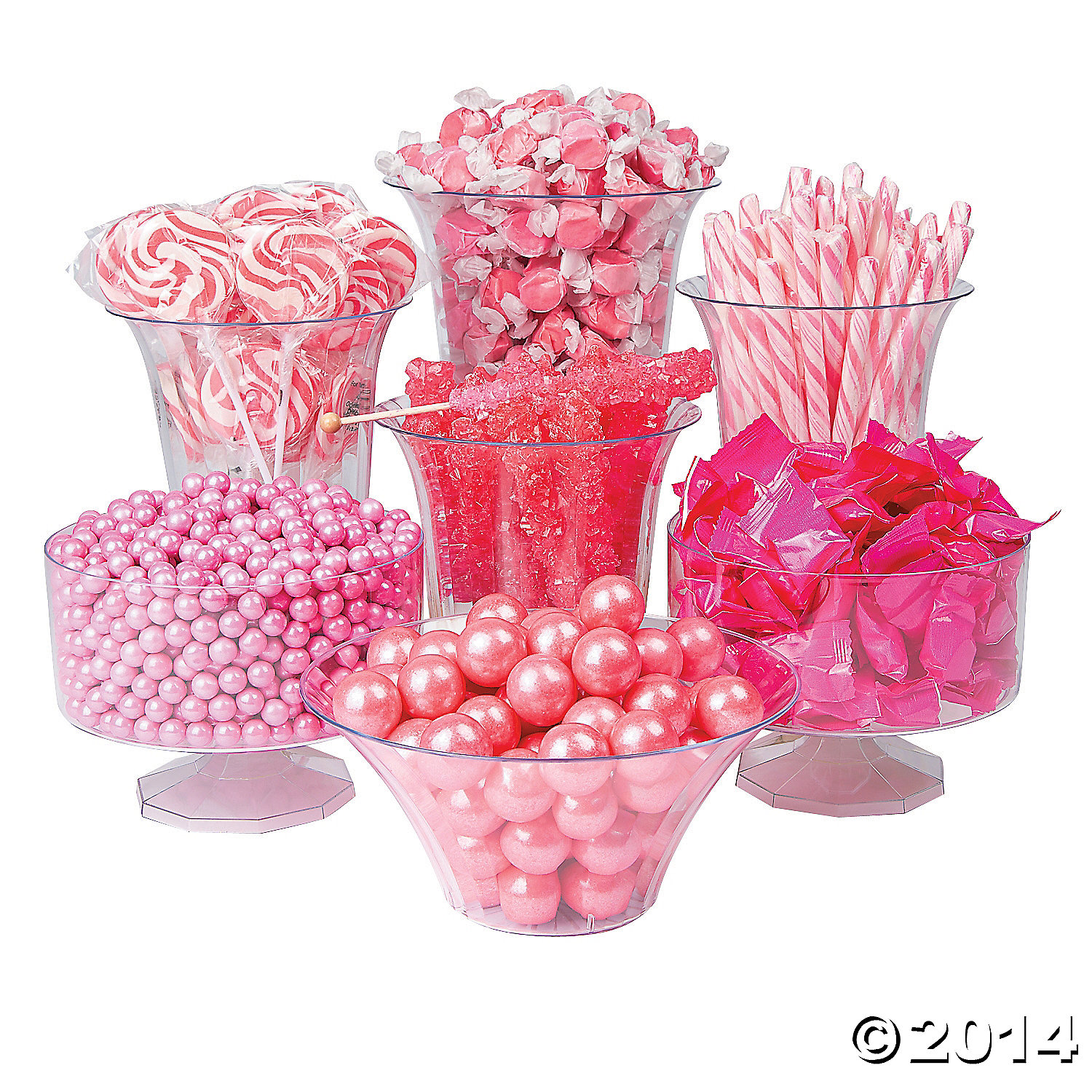 Pink Candy Buffet Assortment 1706pc Party Supplies Canada ...
