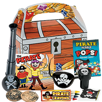 Pirate Deluxe Filled Loot Box