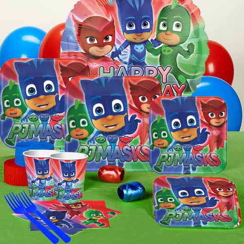 50 OFF PJ Masks Party Pack For 16