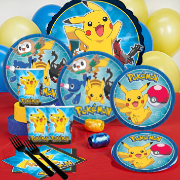Pokemon Party Pack For 16