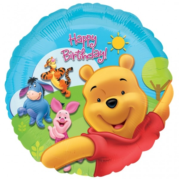 Pooh Birthday Party Supplies Canada Includes 1 18 And Friends Sunny Foil