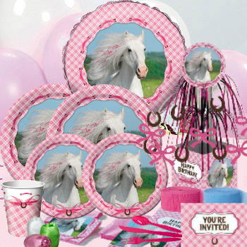 Pretty Horses Deluxe Party Pack for 16