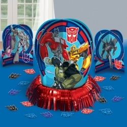 Transformers 23 Piece Table Decor Kit