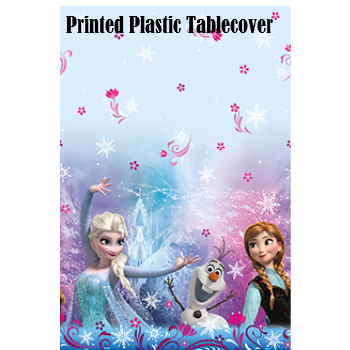 Frozen 60% Off: Printed Plastic Tablecover
