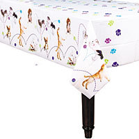 Puppy Party Supplies: Table Cover