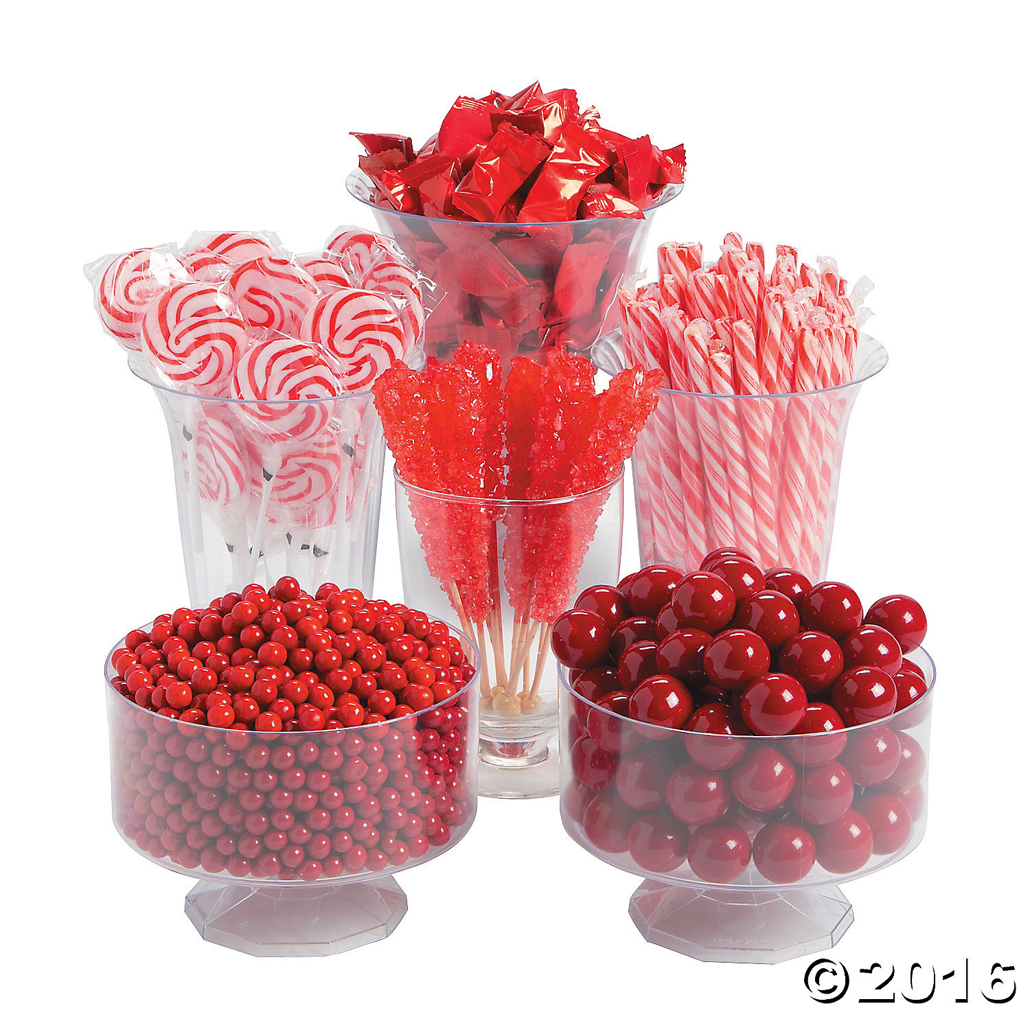 Red Candy Buffet Assortment 1513pc Party Supplies Canada