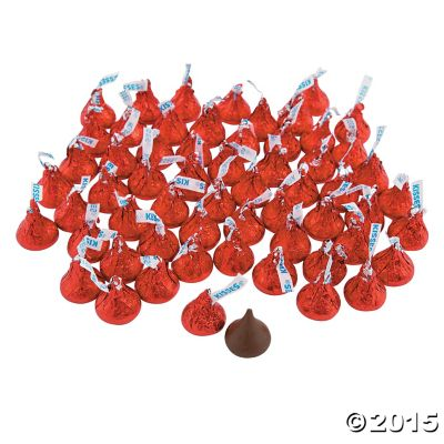 Red Hershey's Kisses 4lbs