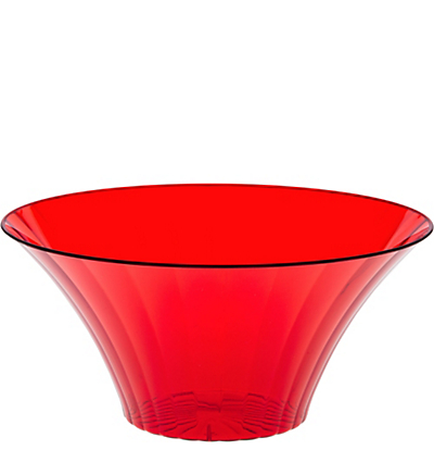 Red Flared Bowl - Large