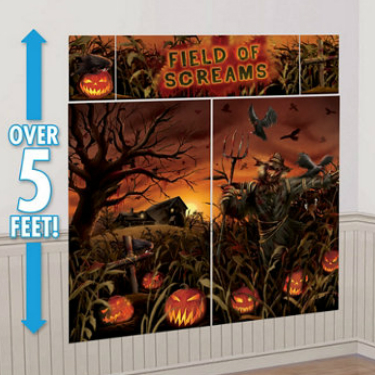 50% Off: Field of Screams 6 Ft. Full Wall Decor