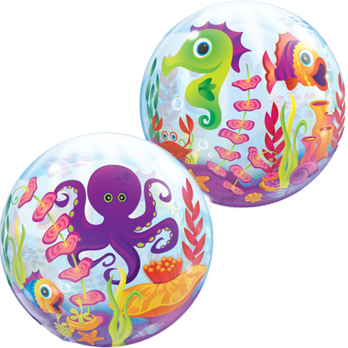 Under the Sea Jumbo Bubble Balloon
