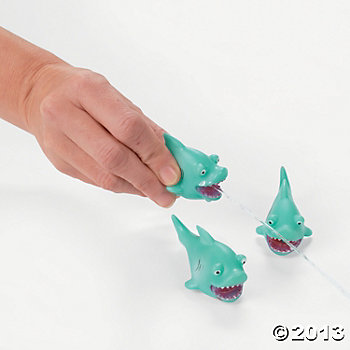 Shark Squirt Toys -  3 Pack