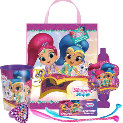 Shimmer And Shine Birthday Party Supplies Party Supplies Canada