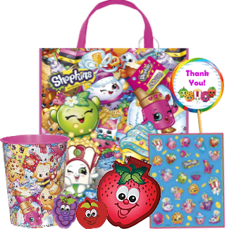Shopkins Filled Reusable Tote Bag w/Tag