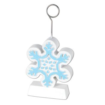 Snowflake Deluxe Photo/Balloon Weight