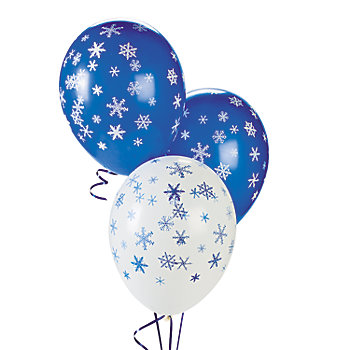 Snowflake Latex 6pk