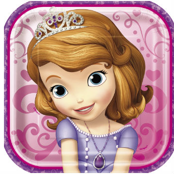 60% Off: Sofia the 1st Party: Dessert Plates 8 Pk