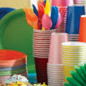 Solid Colour and Patterned Partyware