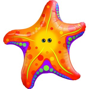 Jumbo Starfish Foil Balloon