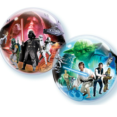 Star Wars Jumbo Bubble Balloon (2 Sided)