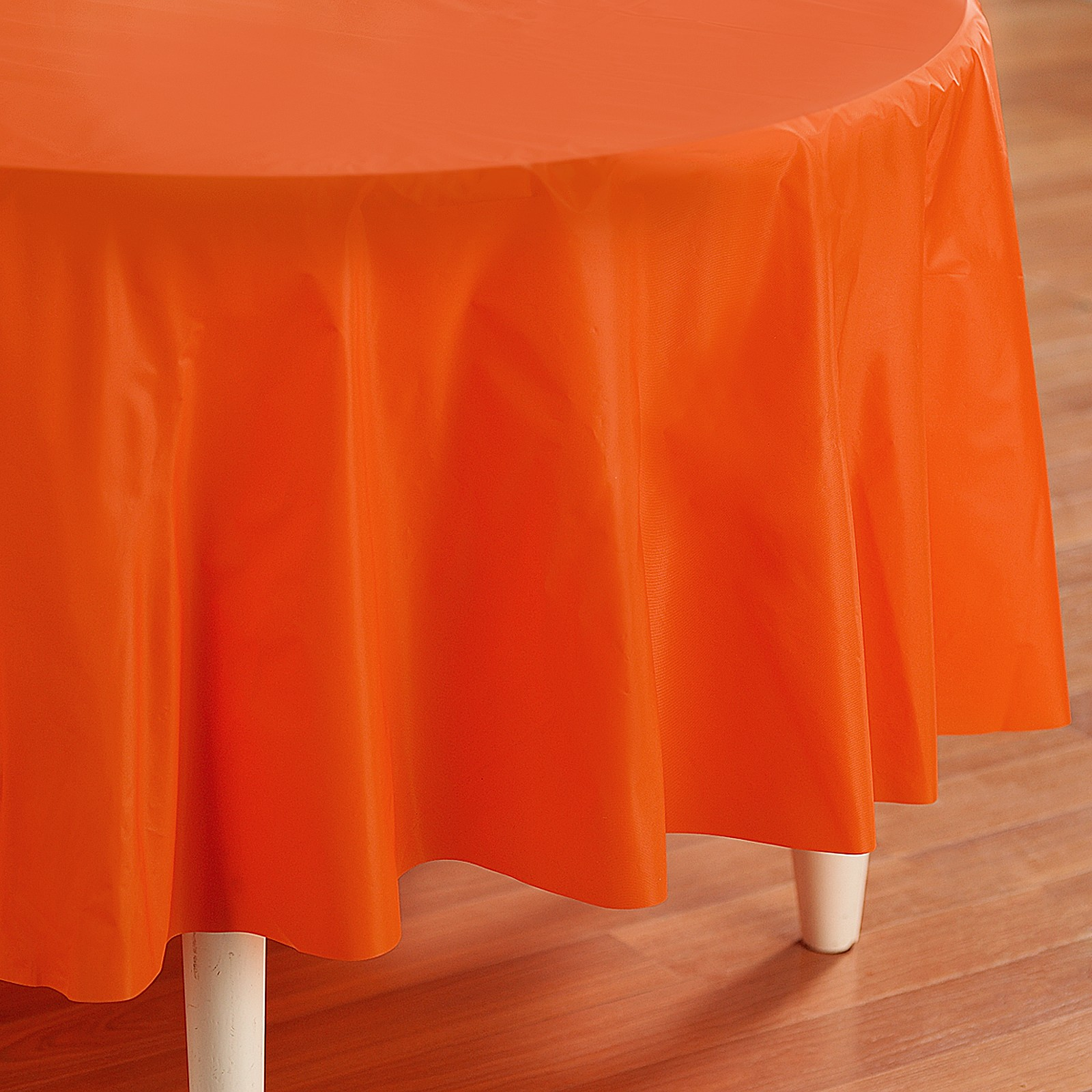 Orange Round Tablecover