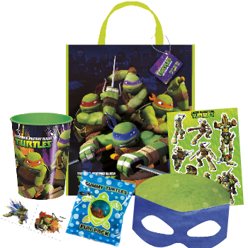 *TMNT Party: Deluxe Tote Filled