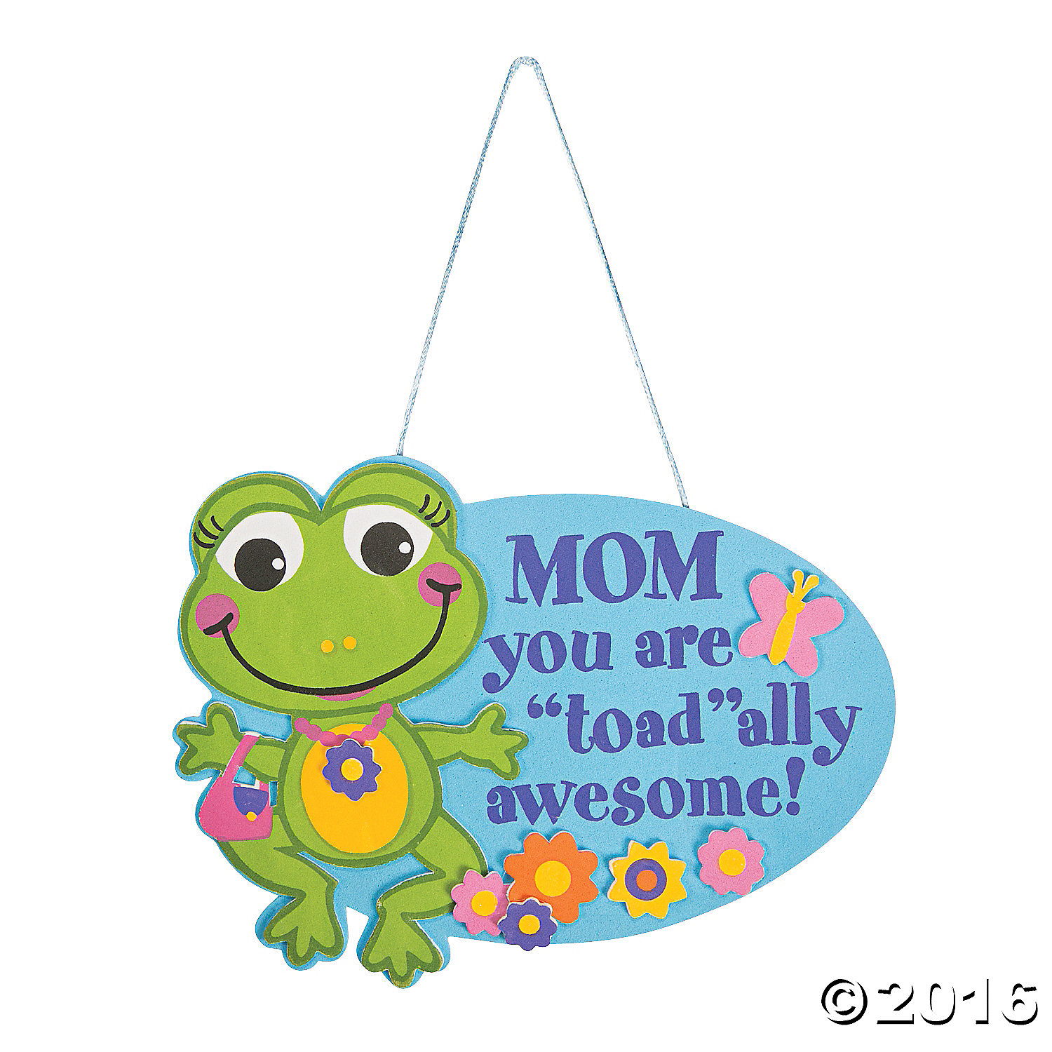 Toadally awesome mom sign craft kit 12 pk party supplies for Mother s day craft kits