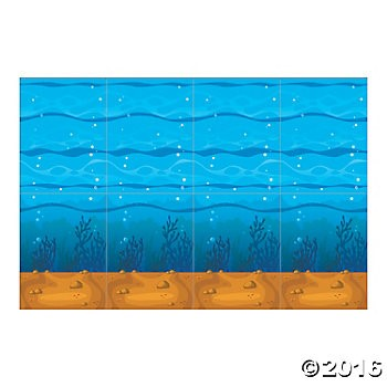 Under the Sea Design-a-Room 30ft. Background