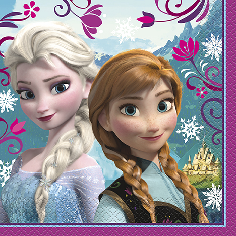 Frozen: 60% Off Premium Lunch Napkins 16 Pk