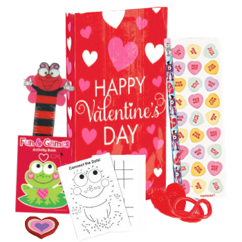 70% Off: Valentine Bag with 6 Toys