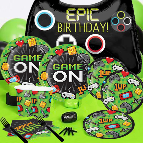 Video Game Super Value Party Pack For 16 Party Supplies Canada
