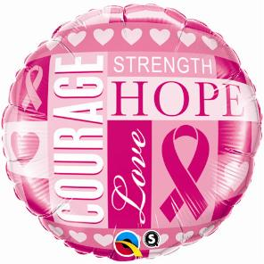 Breast Cancer Inspirations Large Foil Balloon