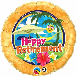 Retirement - Sunshine Large Mylar Balloon