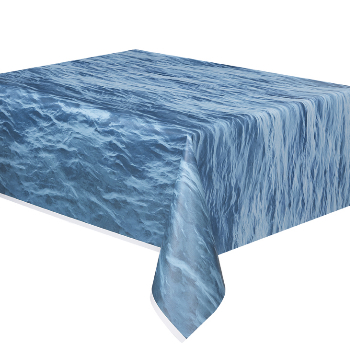Ocean Party: Textured Deluxe Water Tablecover