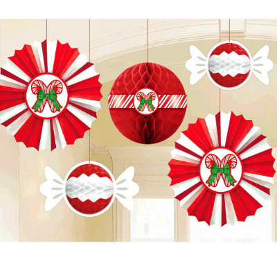 50 off candy cane deluxe hanging decorations - Christmas Decorations Indoor