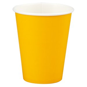 Sunflower Yellow Cups Big 14 Pack