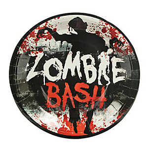 50% Off: Zombie Party Dinner Plates - 8 Pk