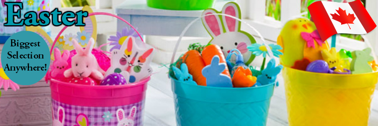 Easter Toys, Candy and Party Supplies