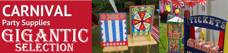 Carnival and Circus Party Supplies