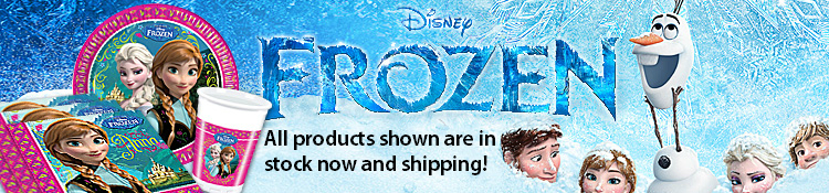 Frozen Party Supplies-Now Shipping!
