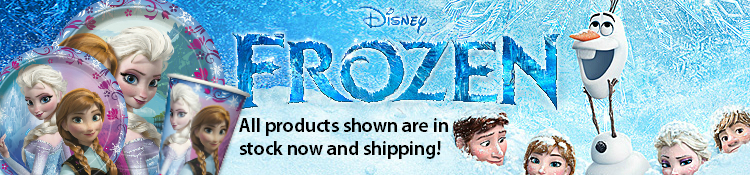 Frozen Party Supplies-Now Shipping