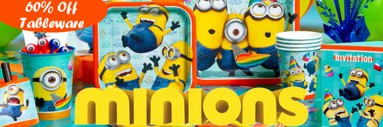 Despicable Me Minions Party Supplies