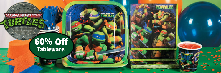 Teenage Mutant Ninja Turtles TMNT Party Supplies