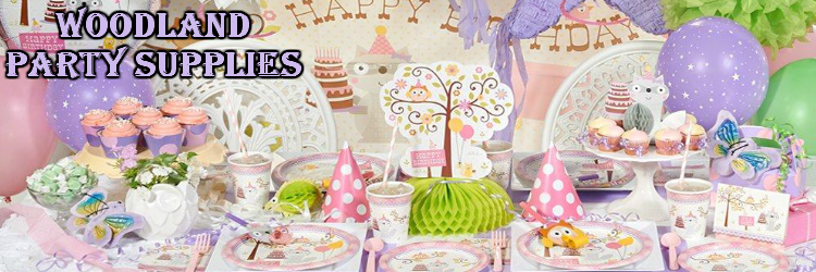 Woodland Girl Party Supplies