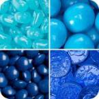 Blues Coloured Candy
