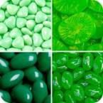 Green & Lime Coloured Candy
