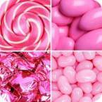 Pink Coloured Candy