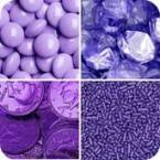 Purple Coloured Candy