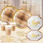 Rustic Bridal Shower Party Supplies